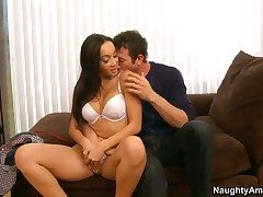 Jordan Ash stretches attractive Katsunis crevice with