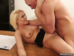 Johnny Sins gobbledygook cock a snook at sultry Ash Hollywoods