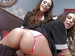 Passionate splendid Ariella Ferrera and Jynx Labyrinth are sinfully splendid