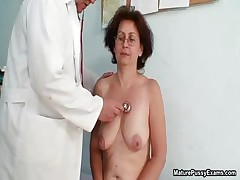 Horny old grandma gets her taut part1