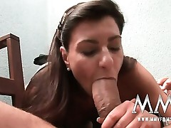 German mature wifey gets the cock inside her