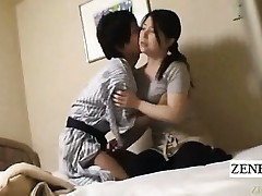 Subtitle Japanese cougar handjob hotel rubdown gone wrong